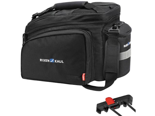 KlickFix Rack Pack 2 Plus Luggage Carrier Bag for Racktime black